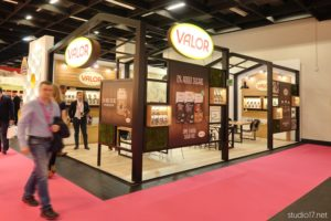 chocolates valor, diseño de stands, studio17